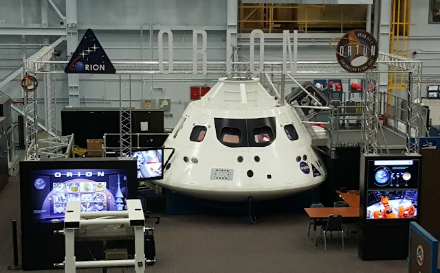 Orion - Red Line Tour - Space Center Houston