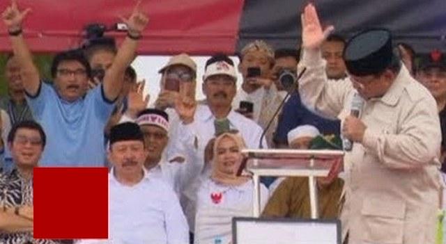 Tawuran Antar Ex Pendukung Prabowo