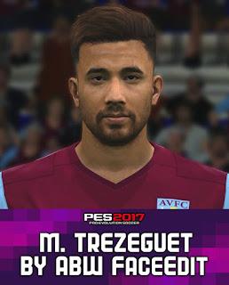 PES 2017 Faces Mahmoud Trézéguet by ABW