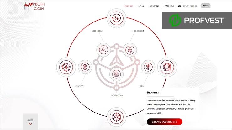 ProfitCoin обзор и отзывы HYIP-проекта