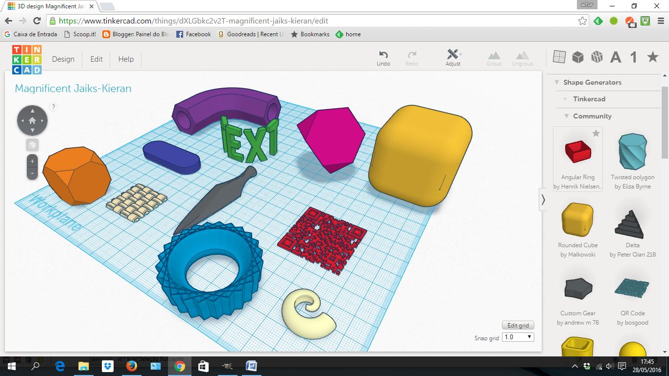 Tinkercad tutorials babel x3d Tinkercad 3d