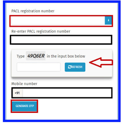 (How Do I Edit My Sebi Pacl Online refund form) தவறான pacl website பதிவுகளை எப்படி திருத்துவது?