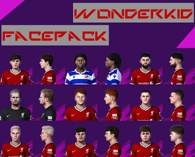 PES 2020 Wonderkid Facepack V1 by YNWA