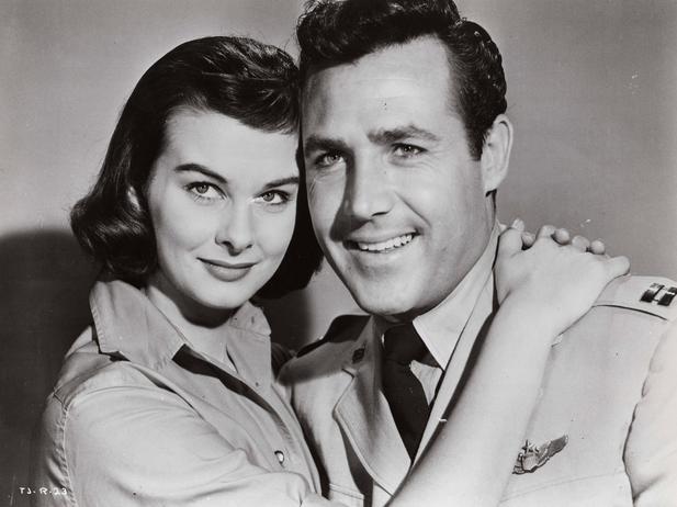 1958. Audrey Dalton, Rex Reason - Thundering jets