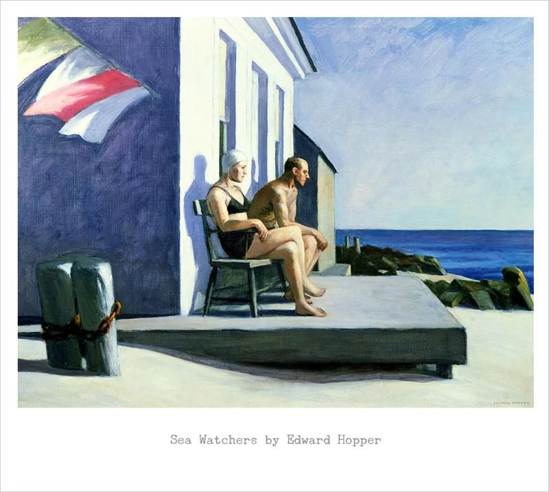 Sea Watchers, Edward Hopper