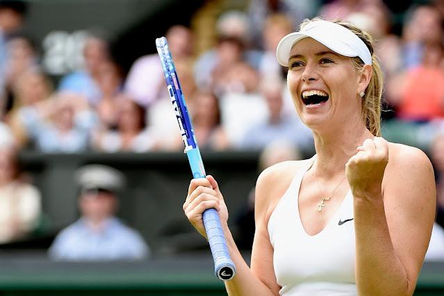 minimalist sports fashion style of Maria Sharapova