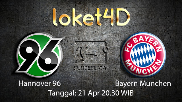 BOLA88 - PREDIKSI TARUHAN BOLA HANNOVER VS BAYERN MUNCHEN 21 APRIL 2018 ( GERMAN BUNDESLIGA )