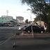 Veículo desgovernado colidiu contra poste na avenida Bernardo Vieira nesta madrugada