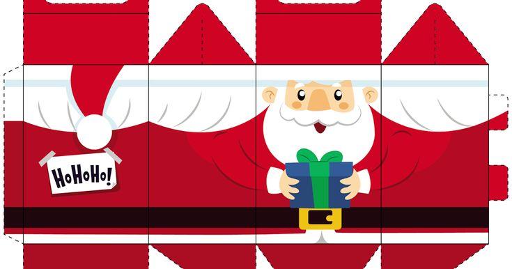 Blog Cantinho Alternativo Caixinhas De Natal Para Imprimir