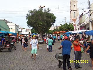 Picuienses se mostram satisfeitos com a organização da feira livre realizada sábado (4)