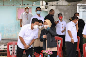 Wagub Dampingi Mensos Kunjungi Sejumlah Lokasi Bencana di Manado