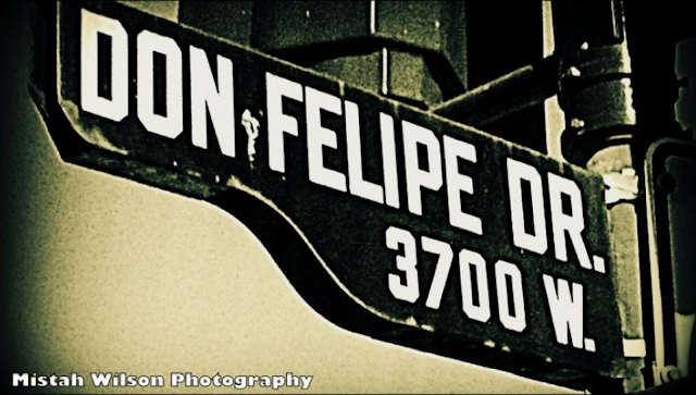 Don Felipe Drive, Los Angeles, California by Mistah Wilson