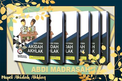 Buku Teks Pelajaran Akidah Akhlaq MI Sesuai KMA Nomor 183 Tahun 2019