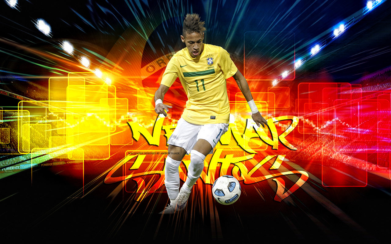 Neymar New 2012 Wallpapers Football Stars: