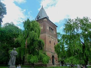 Дрогобыч. Оборонная башня-колокольня