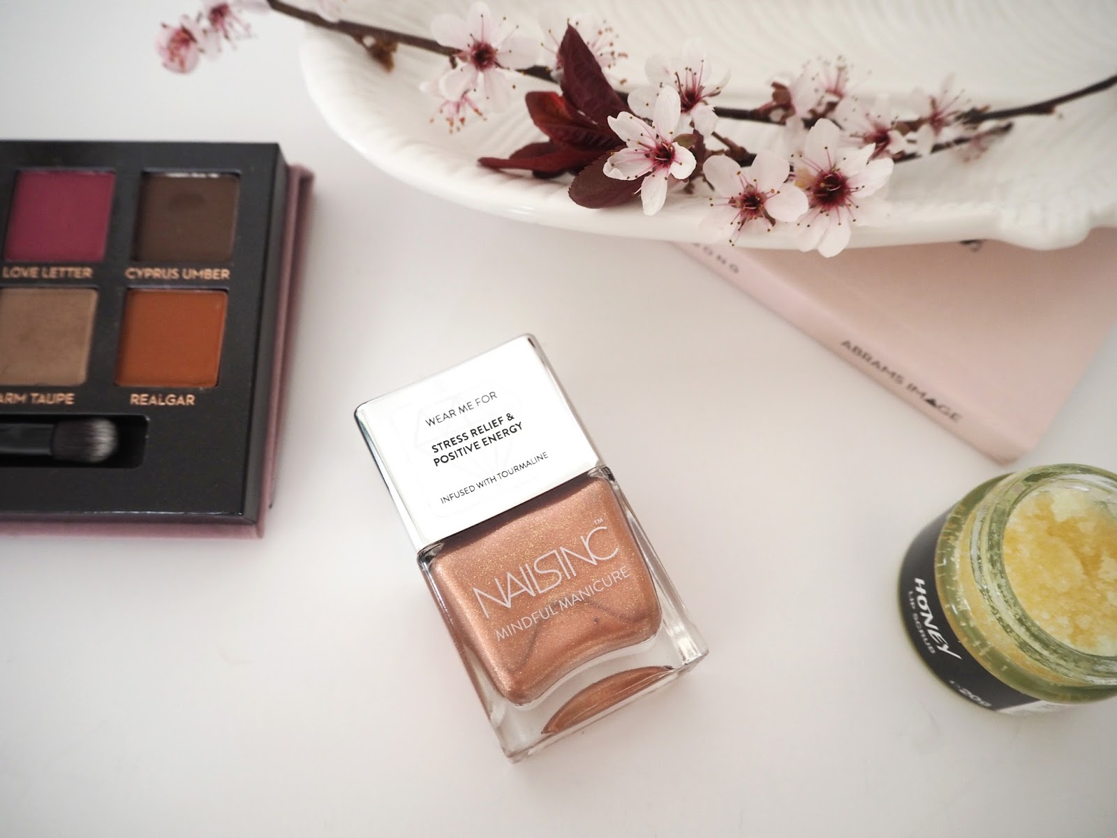 Loves List: March, Katie Kirk Loves, UK Blogger, Beauty Blogger, Lifestyle Blogger, Make Up Blogger, Skincare Blogger, Monthly Favourites, Beauty Review, Skincare Review, Nails Inc Mindful Manicure, Nail Blogger, Nail Swatches, Rose Gold Manicure