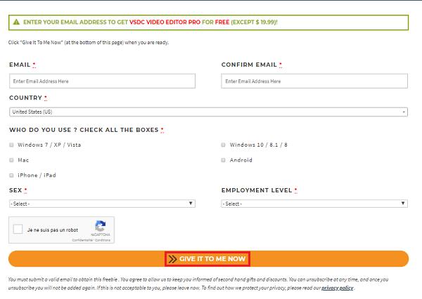 عرض محدود : سارع للحصول على هذا البرنامج المدفوع ثمنه 20$ مجانا !