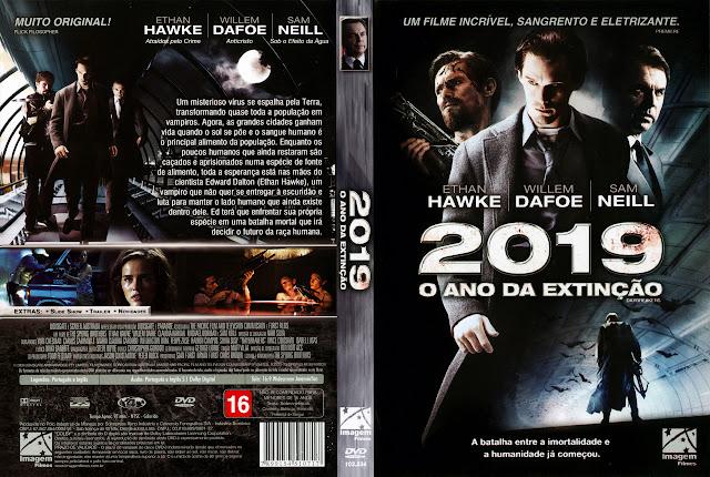 Capa DVD 2019 O ANO DA EXTINÇÃO
