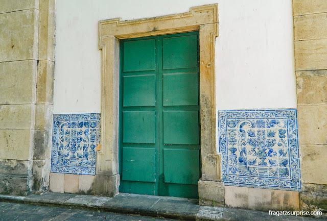 Azulejos do Século 17 no Convento de Santa Teresa, Salvador
