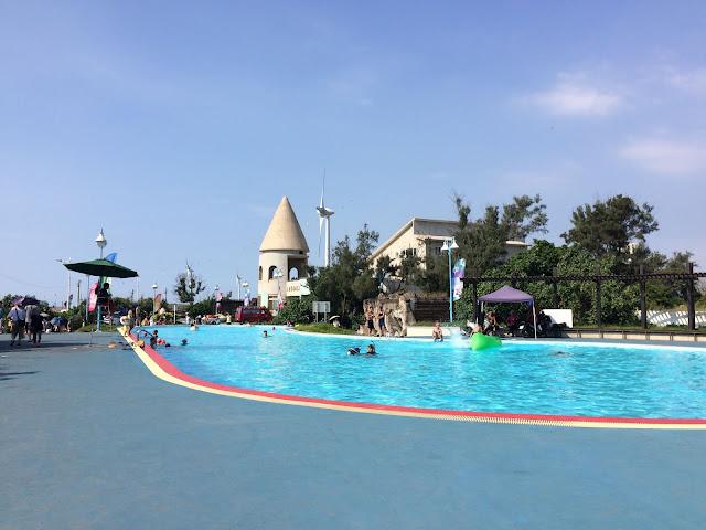 大安濱海樂園游泳池