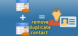 remove duplicate contacts android in hindi