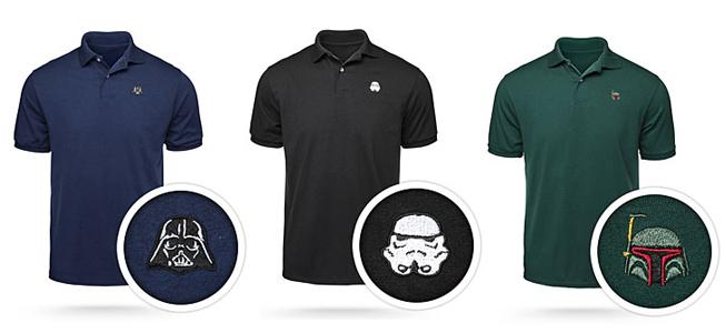Camisas Polo com personagens de Star Wars  e9523735c7260