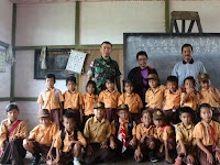 Posyandu dan Imunisasi Gratis di Daerah Perbatasan RI-Malaysia