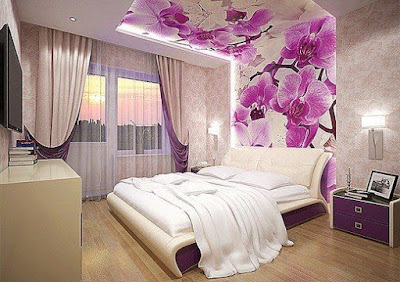 women bedroom interior design and wall decoration ideas 2019