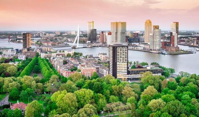 روتردام مدينة جذابة للاستثمار والقيام بالأعمال التجارية