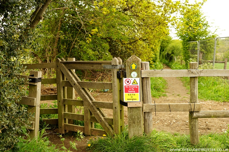 Kissing Gate leading to Jubilee Path