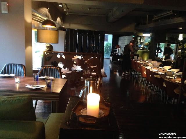 餐廳內部用餐環境