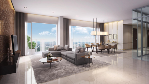 Queens Peak Living Dining