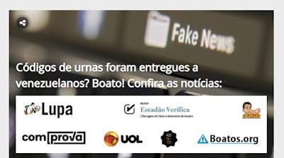 Site Fato ou Boato