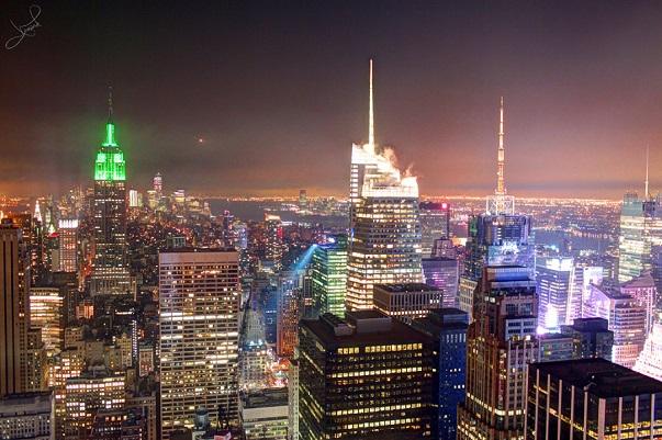 St Patrick's Day i New York