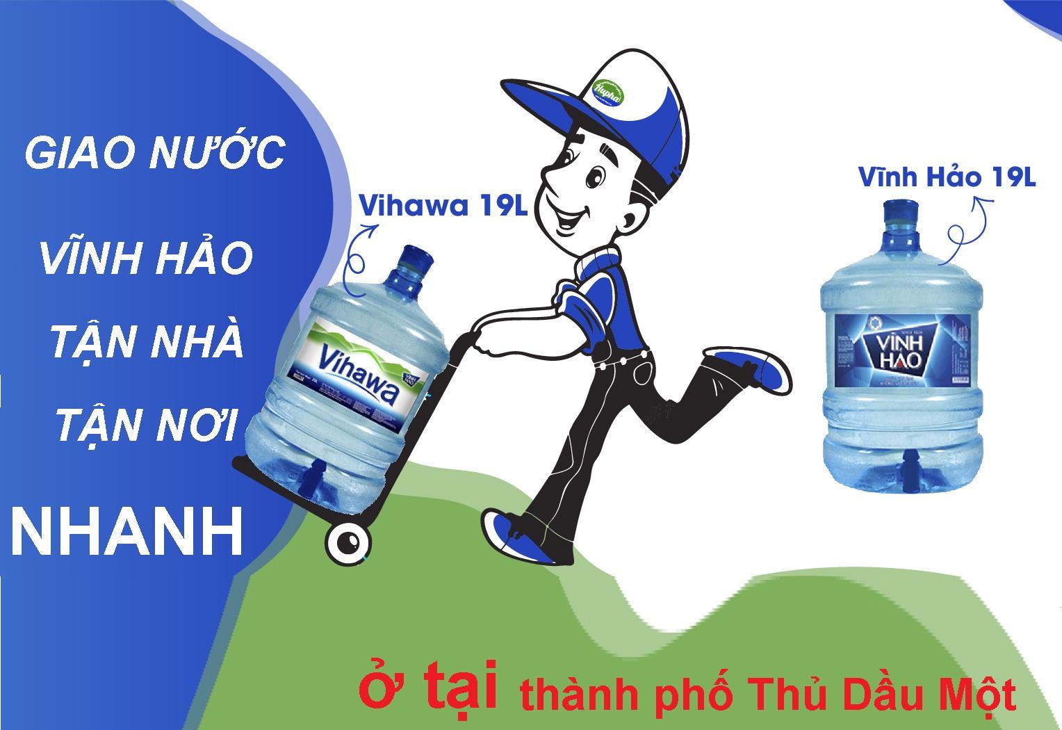 Giao nước Vĩnh Hảo tận nơi ở tại Thủ Dầu Một- GIAO NUOC VINH HAO THU DAU MOT