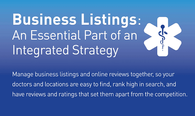 Business Listings: An Essential Part of an Integrated Strategy
