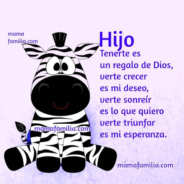 frases de aliento para mi hijo, palabras con imagen para hijo, mamá y familia, mensaje por Mery Bracho
