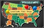 Crafts Map USA