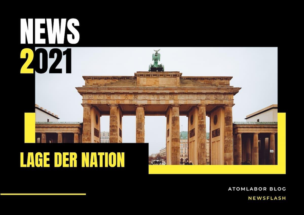 Die Lage der Nation | News Flash im Atomlabor 01