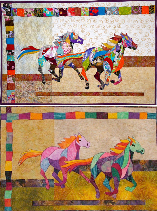 How to make Horse Quilt Patchwork