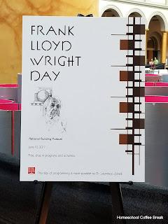 Frank Lloyd Wright - Blogging Through the Alphabet on Homeschool Coffee Break @ kympossibleblog.blogspot.com