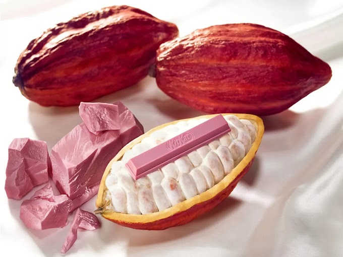 Conozca el chocolate rosado por naturaleza