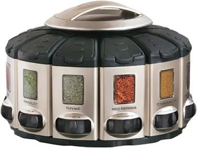 KitchenArt 57010 Select-A-Spice - Carrusel Automático de Especies