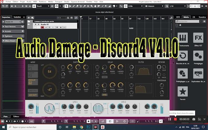 Audio Damage - AD044 Discord4 V4.1.0 VST, VST3, AAX, AU WIN.OSX.LINUX X64 [12.2020]