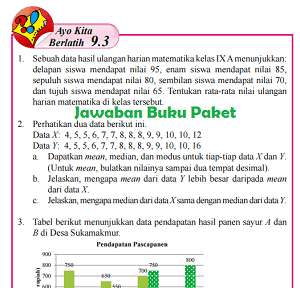 Kunci Jawaban Buku Paket Matematika Kelas 8 Semester 2 Ayo Kita Berlatih 9.3 Halaman 253 254 255 www.jawabanbukupaket.com