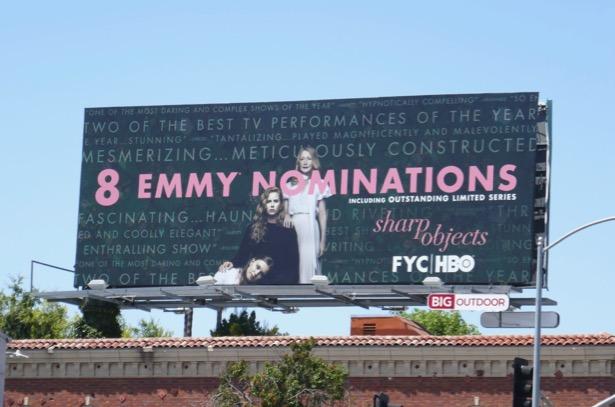 Sharp Objects 2019 Emmy nominee billboard
