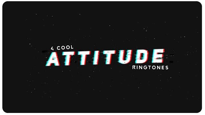 4 Cool Attitude Ringtones
