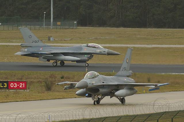 Netherlands sell F16 Draken