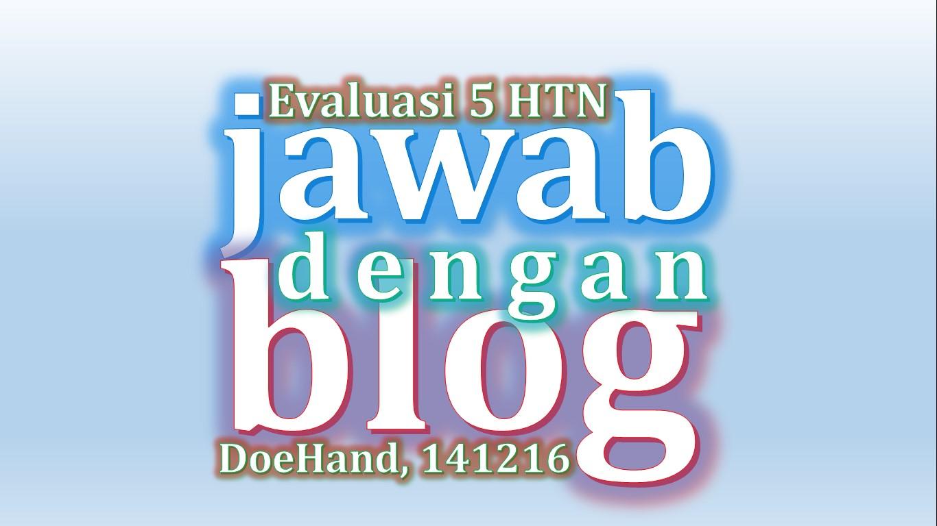 Hawa Dan Ahwa Evaluasi Hukum Tata Negara