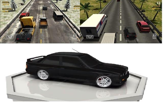 لعبة سباق بدون انترنت: Traffic Racer